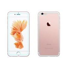 Front LCD Screen Protector Back Cover trasparente Tempered Glass Protective Film Shield For iphone 7