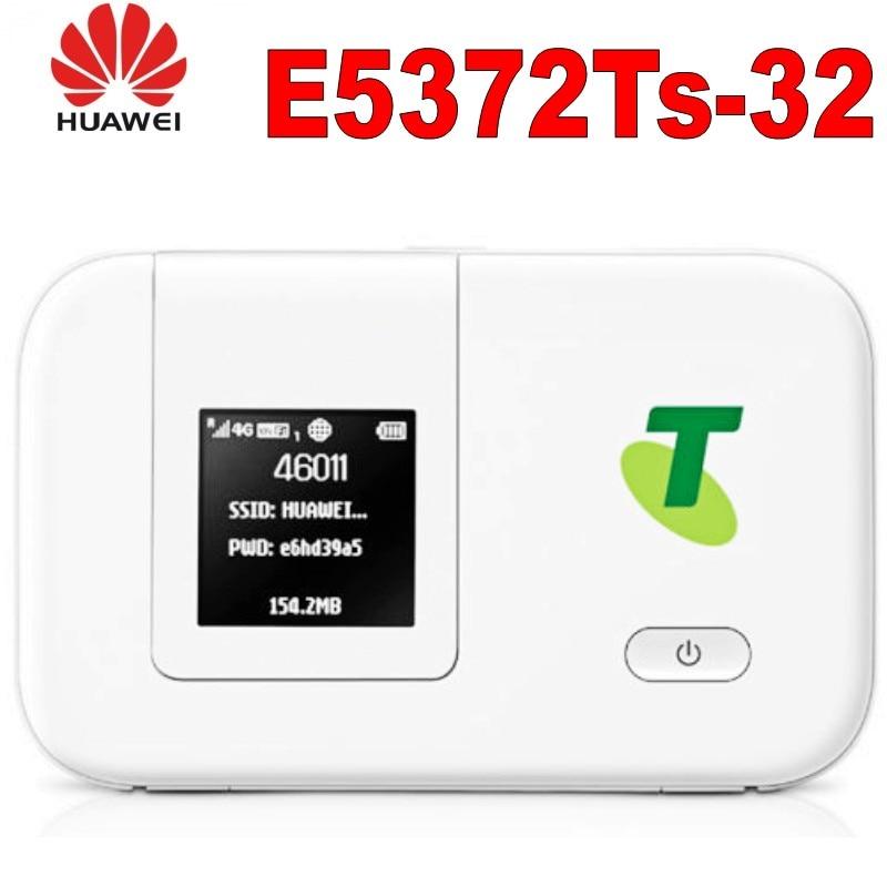 original desbloqueado huawei e5372ts 32 4g lte wifi movel hotspot roteador bateria grossa 3560mah
