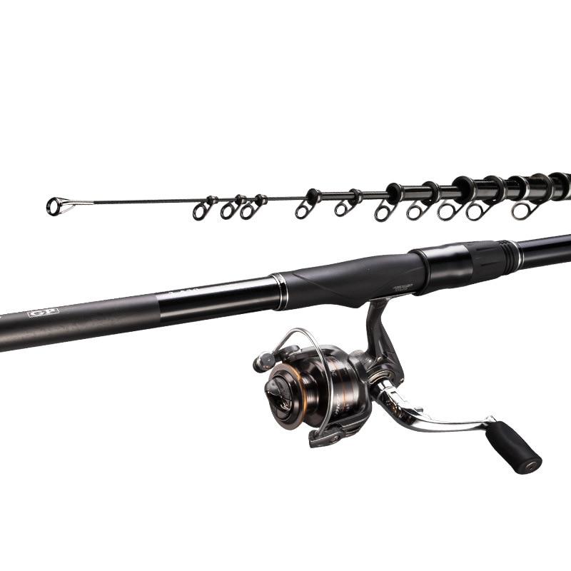 3.6M 4.5M 5.4M 6.3M Spinning Fishing Rod M Power Telescopic Rock Fishing Rod Carp Feeder Rod Surf Spinning Rod A131 enlarge
