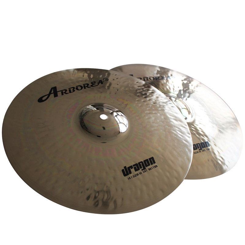 "Dragon 14"" Hihat  professional cymbals"