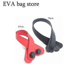 2Pcs  soft Handle Purse Bag Flower Bag Parts & Accessories 47 cm 70 cm handles for o eva bag