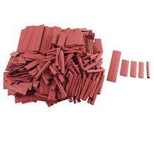 500 stücke Rot 21 Schrumpfschlauch Schrumpfschlauch Kabel Wrap 50mm 100mm 5 Größen