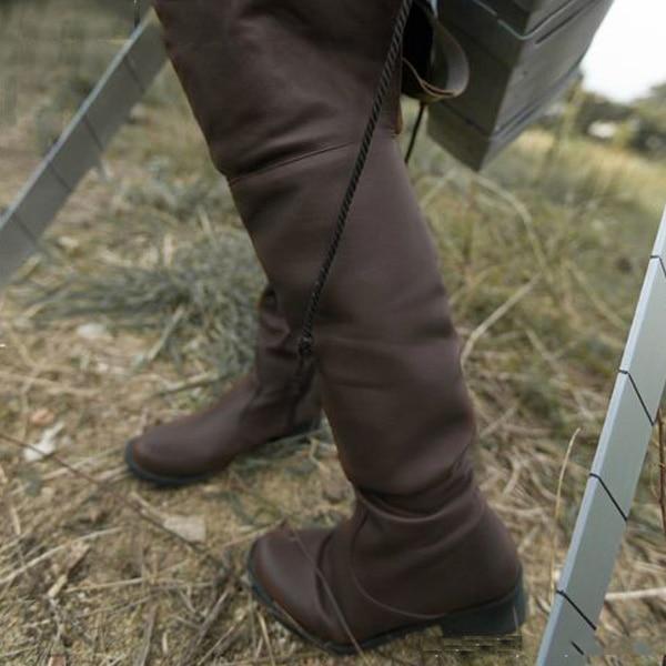 أحذية مخصصة للهجوم على Titan Shingeki no Kyojin Eren Jaeger Mik ، أحذية مخصصة للحفلات التنكرية ، جميع الأحجام