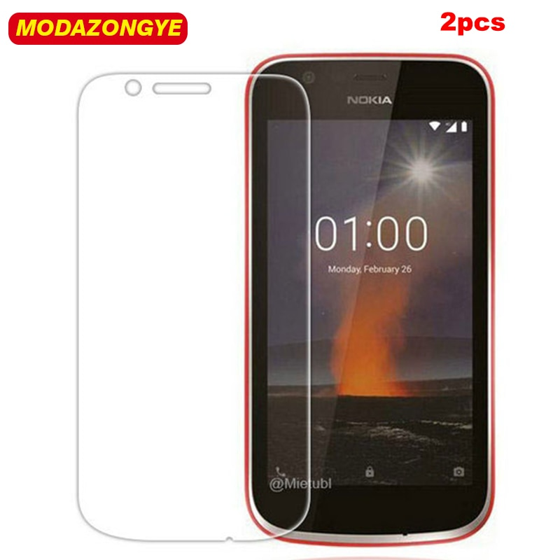 2pcs Tempered Glass For Nokia 1 Screen Protector Nokia 1 Nokia1 Protective Film For Nokia 1 Tempered