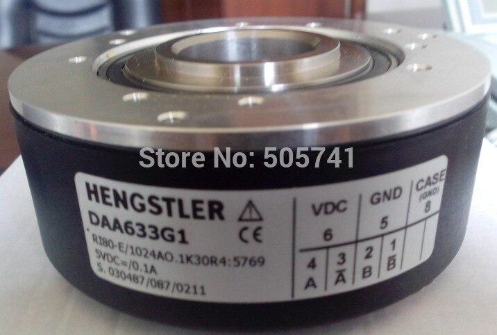 Codificador Hengstler DAA633G1, RI80-E, reemplazar SBH2-1024-2MD-13