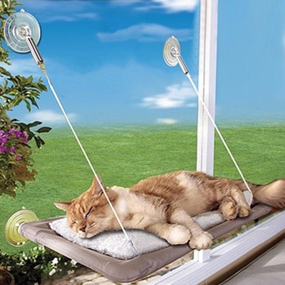 Hamaca colgante para gatos Nosii, cama de gato, perreras, estera de sofá, cojín, asiento tipo estante, tumbona, sofá, sofá con succión