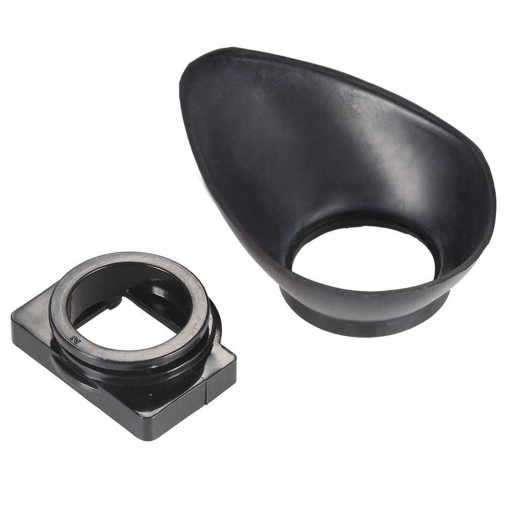 22mm copa para ojo de goma ocular Hood DSLR foto de cámara Eyecup para Nikon D7100 D7000 D5200 D5100 D5000 D3200 D3100 D3000 D90 D80
