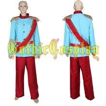 Déguisement de carnaval adulte déguisement de fête cendrillon Prince charmant Prince déguisement de Cosplay Costumes dhalloween Costume fête