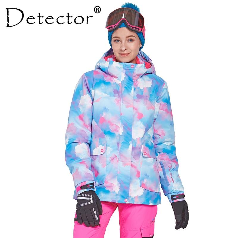 detector women s winter ski snowboard jacket waterproof windproof coat outdoor ski clothing women warm clothes Detector Women's Ski Snowboard Jacket Outdoor Winter Ski Clothing Women Waterproof Windproof Coat Warm Clothes