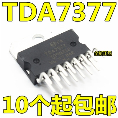 5PCS 10PCS TDA7377 ZIP-15 7377 ZIP15 rádio Do Carro amplificador de potência Novo e original