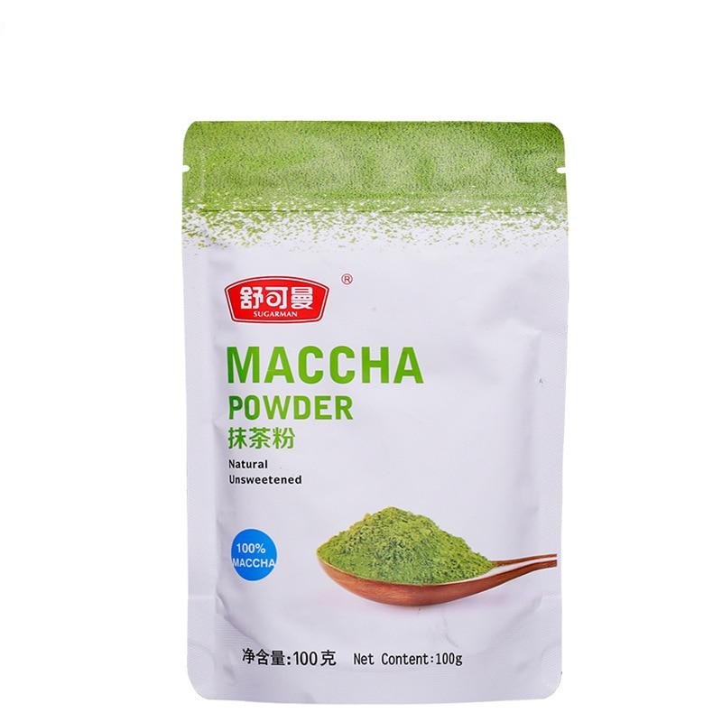 100g organic matcha tea powder Pure Organic Portable Mini Matcha Green Tea Powder Professional Kitchenpaper bags tea bag