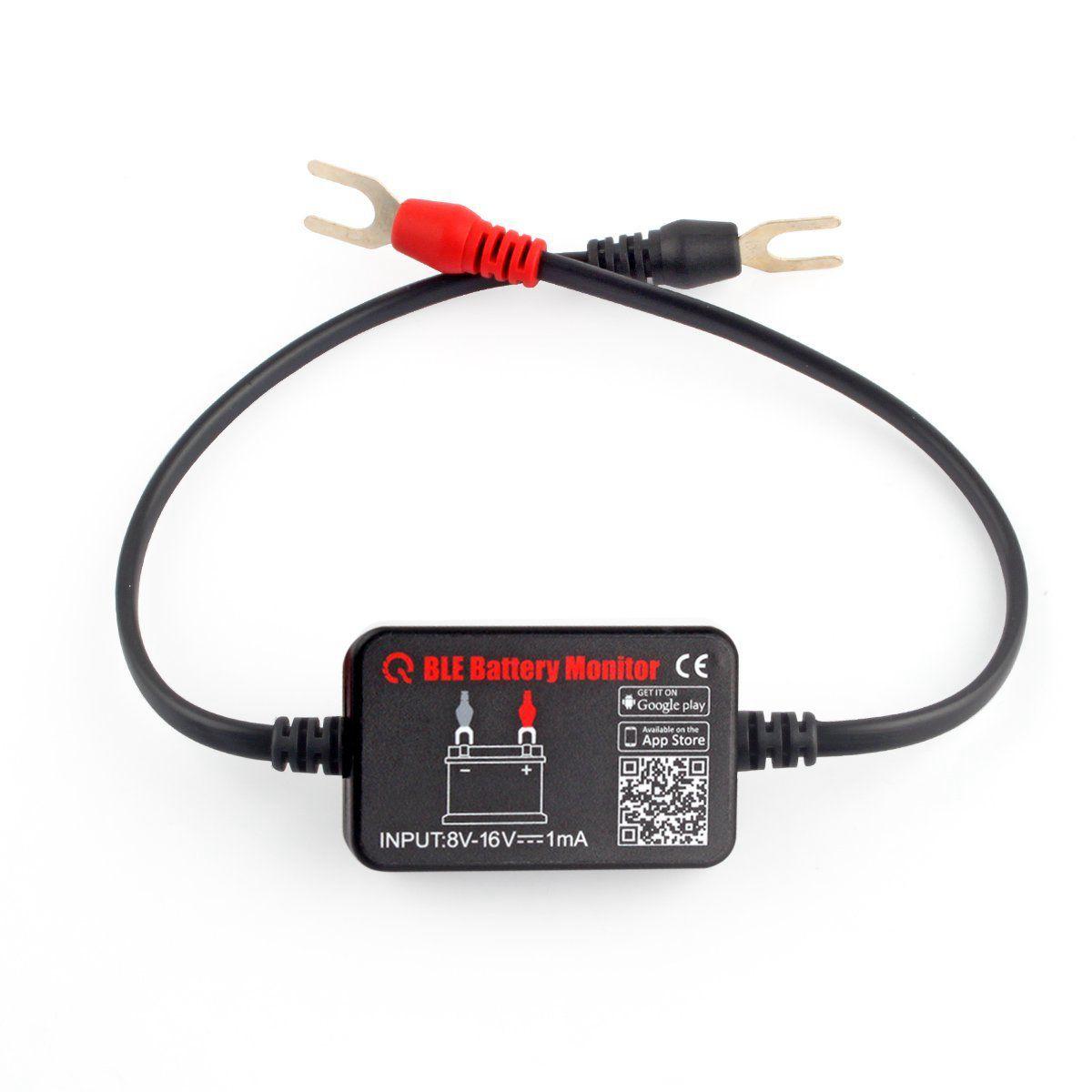 Probador de batería de coche inalámbrico BM2 para automóvil, probador de carga de batería de 12V Bluetooth 4,0, voltaje de batería, sistema de carga y manivela