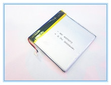 lithium battery, 407072 3.7V 3000MAH 407070 milliampere patriot M608 M60 patriot p726 battery