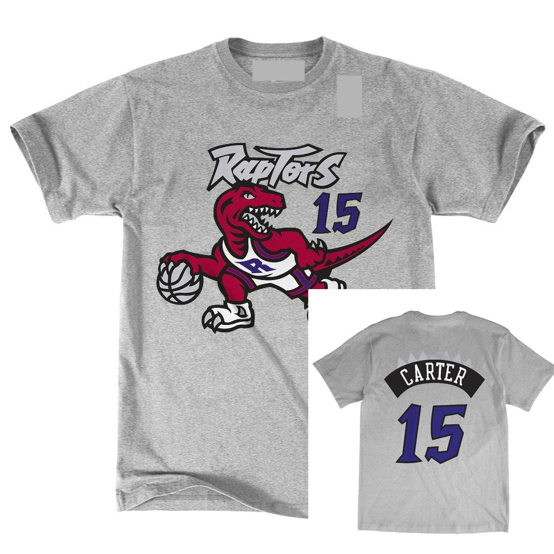 Toronto T Shirt Raptors Carter Hwc Retro Name and Number T-shirt 2018 New 100% Cotton Top Quality Top Tee Plus Size Harajuku