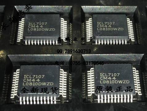 5Pcs ICL7107 ICL7107CM44  QFP44