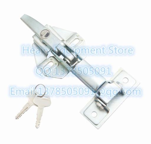 A la cubierta del motor Hood Lock 205-54-76260 2055476260 para Komatsu PC200-2 PC400-8 PC450-8 PC800-8 D155A-6 D275A-5R D375A-6 D475A
