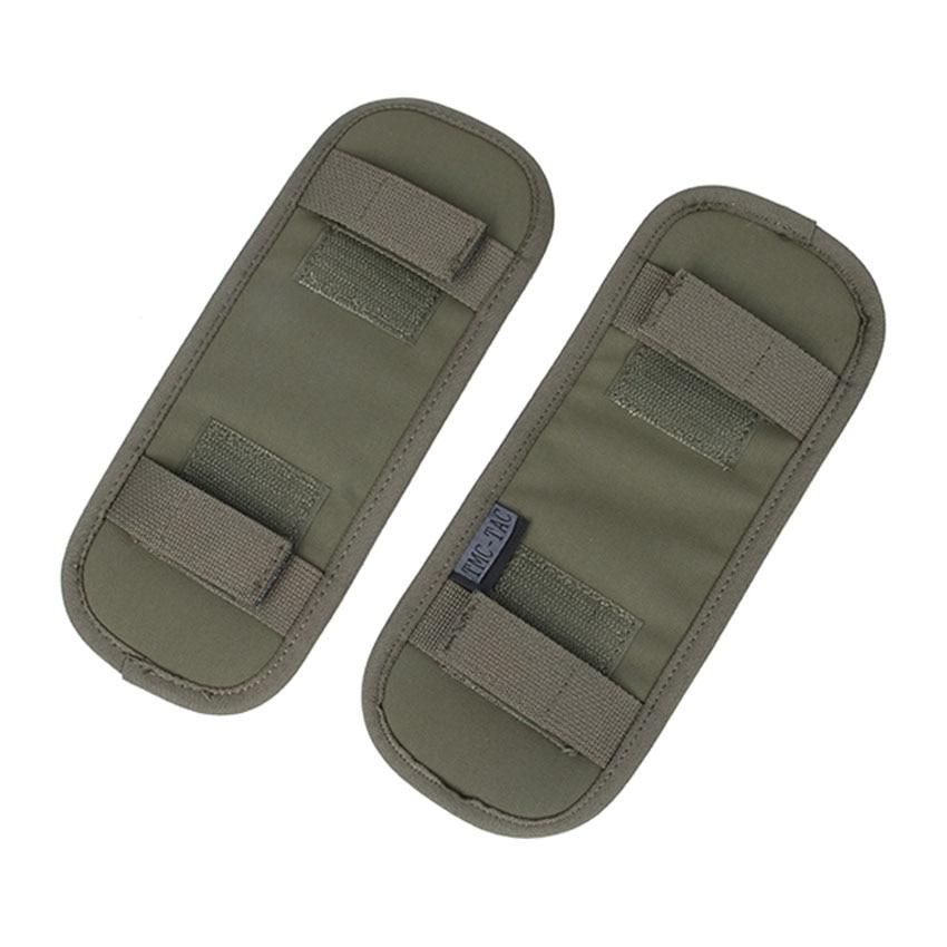 1 пара TMC2875, тактический жилет, наплечный ремень, подушка на плечо, удобная подушка, защитные накладки MC/RG/BK/CB, бесплатная доставка