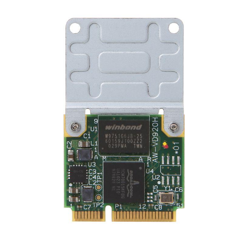 BCM970012 BCM70015 Кристальный декодер формата HD карта AW-VD920H Mini PCIE карта для ноутбуков APPLE TV