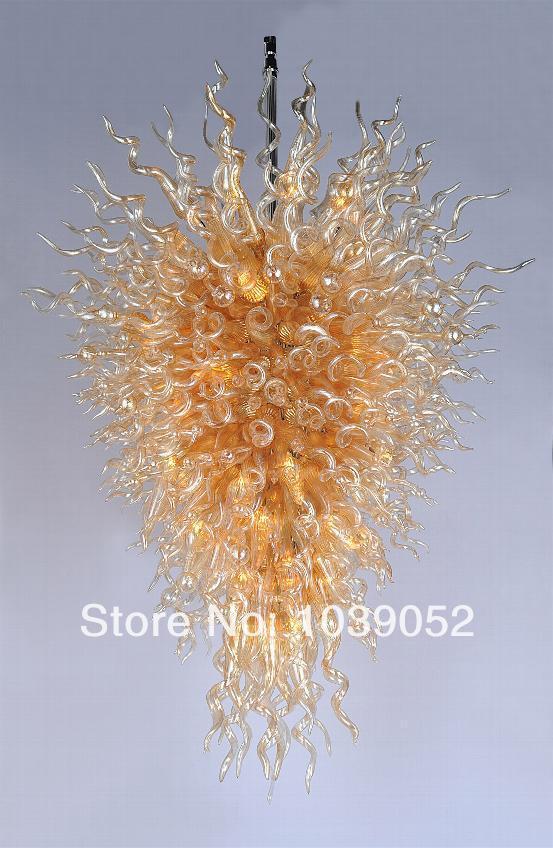 Free Shipping Modern Hotel Murano Lights Big Bohemian Crystal Chandelier