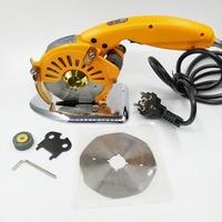 110V-240V Yellow electric scissors drive electric circular knife direct cutting cloth machine tool