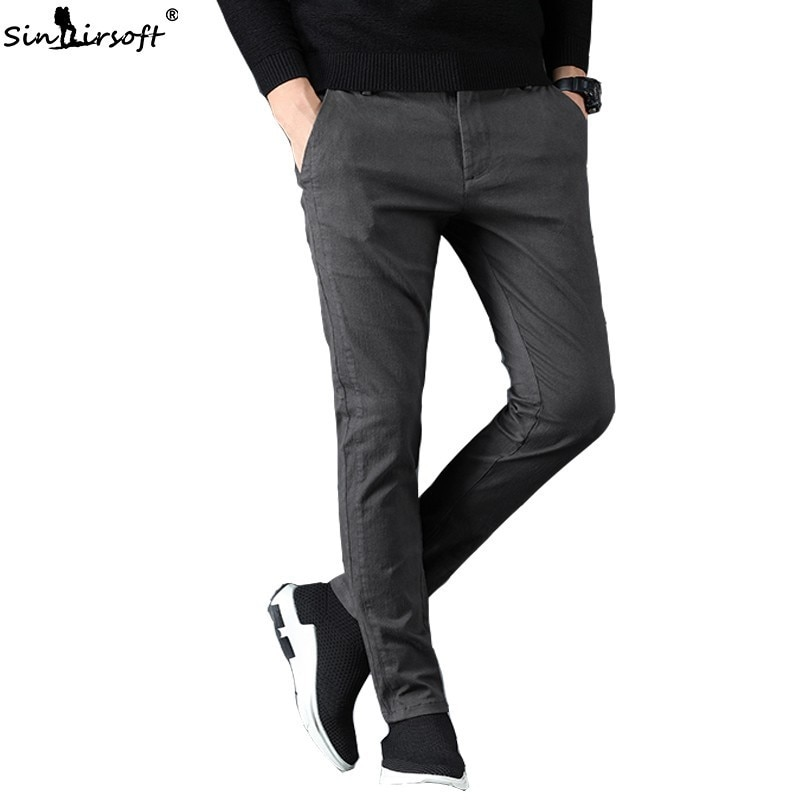 Joggersslack pants mens sportswear mens slim casual pants sportswear pants mens hot stretch pants men