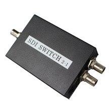 2 pz/lotto SDI Switcher 2x1 HUB SDI Interruttore Intelligente Extender 2 A 1 Converter per 3G HD SD Monitor Telecamera di Sicurezza CCTV Video