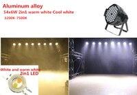 LED par light 54X6W RGBW DMX Channel DMX 512 Windmill pattern LED Stage Light DJ party 54x6w Warm White DJ Wash Light Stage