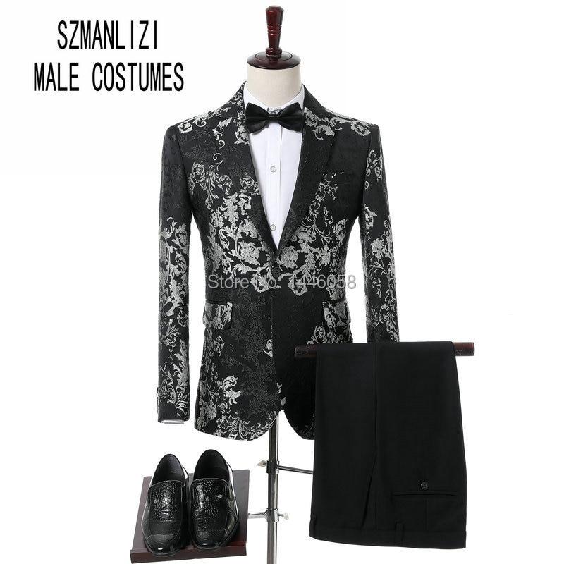 Men Wedding Suits 2018 Elegant Brand Real Groomsmen Slim Fit Groom Tuxedos Mens Tuxedo Blazer Wedding Party Prom Suits For Men