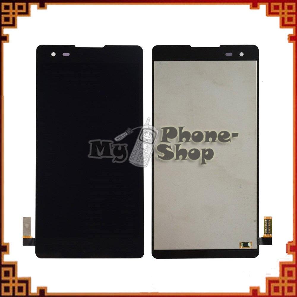 10 unids/lote LCD para LG K6 Digitalizador de pantalla táctil de pantalla para LG K6 LCD X estilo K200 K200DS K200DSF marco envío por DHL EMS