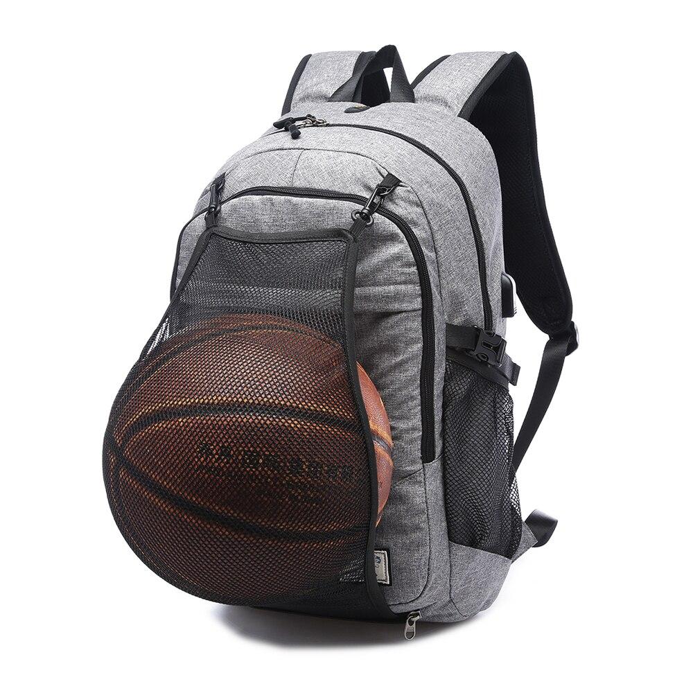 حقيبة ظهر رياضية لكرة السلة والجيم للرجال ، حقيبة مدرسية للمراهقين ، كرة قدم ، حقيبة كمبيوتر محمول ، شبكة لياقة