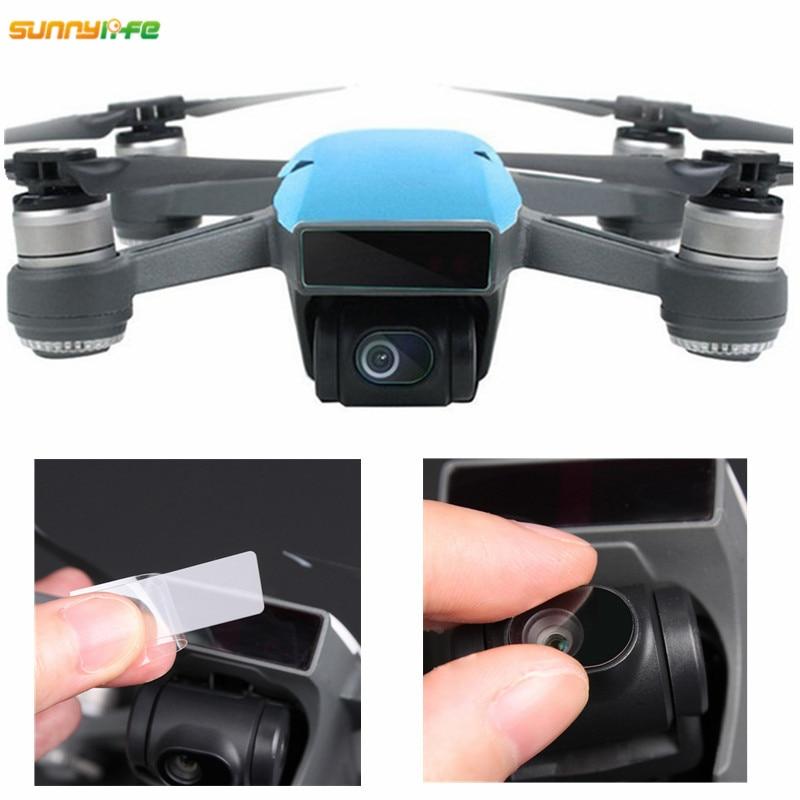 Для DJI Spark Гибкая Стекловолоконная Защитная пленка для корпуса дрона Защитная пленка для объектива камеры защитная накладка защита для экра...