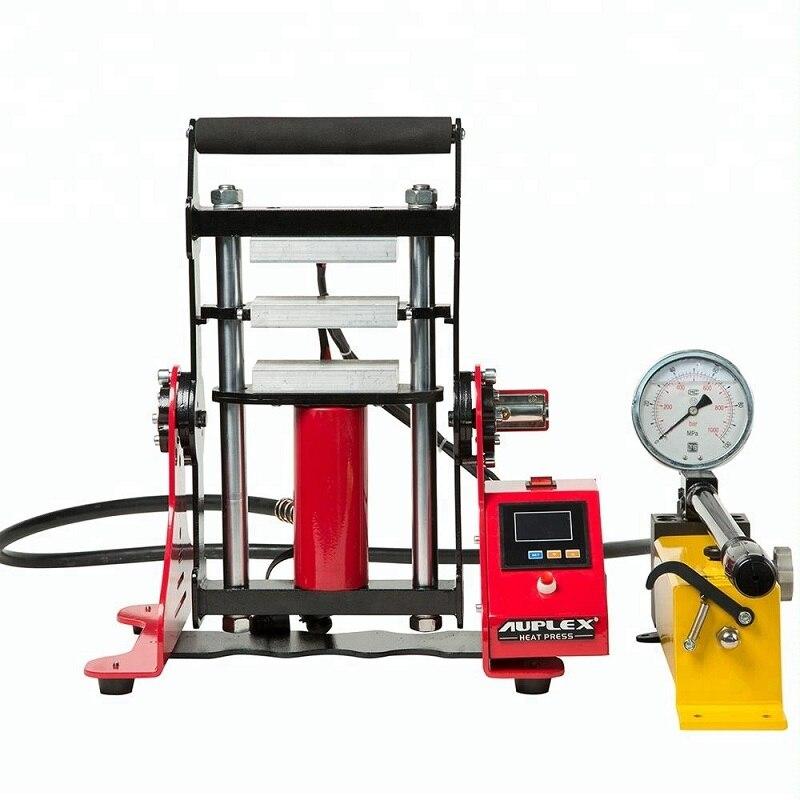 6x12cm 15ton High Pressure Oil Extractor Dual Heating Plates Rosin Press Machine Hydraulic Prensa Rosin Essence Extract Equip NO.AP1805