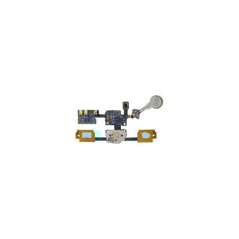 Para Samsung Galaxy S GT-I9000 botón de inicio Sensor Flex Cable con...