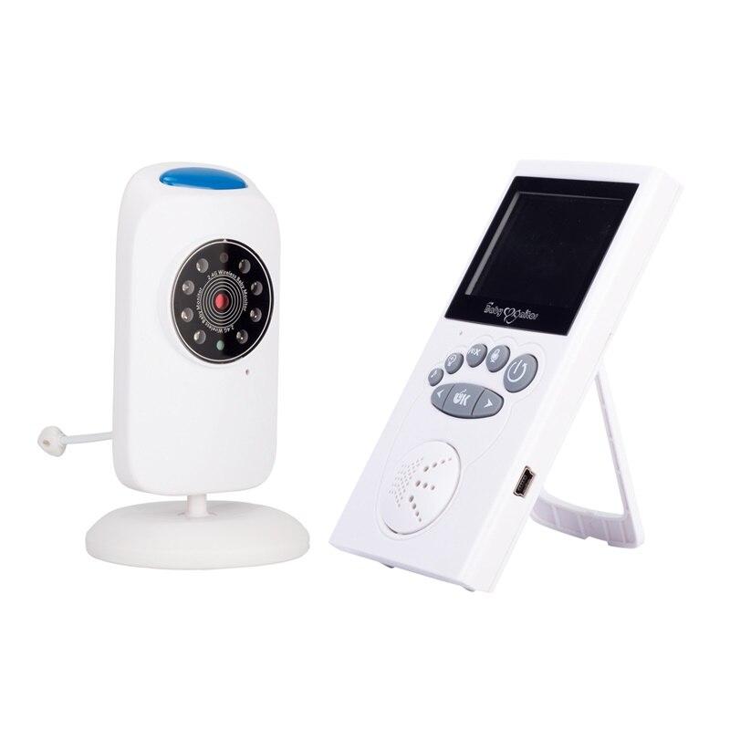 كاميرا مراقبة الطفل اللاسلكية الأشعة تحت الحمراء للرؤية الليلية 2.4 بوصة LCD اتجاهين الحديث النوم مراقب Intercomunicador فيديو Bebe