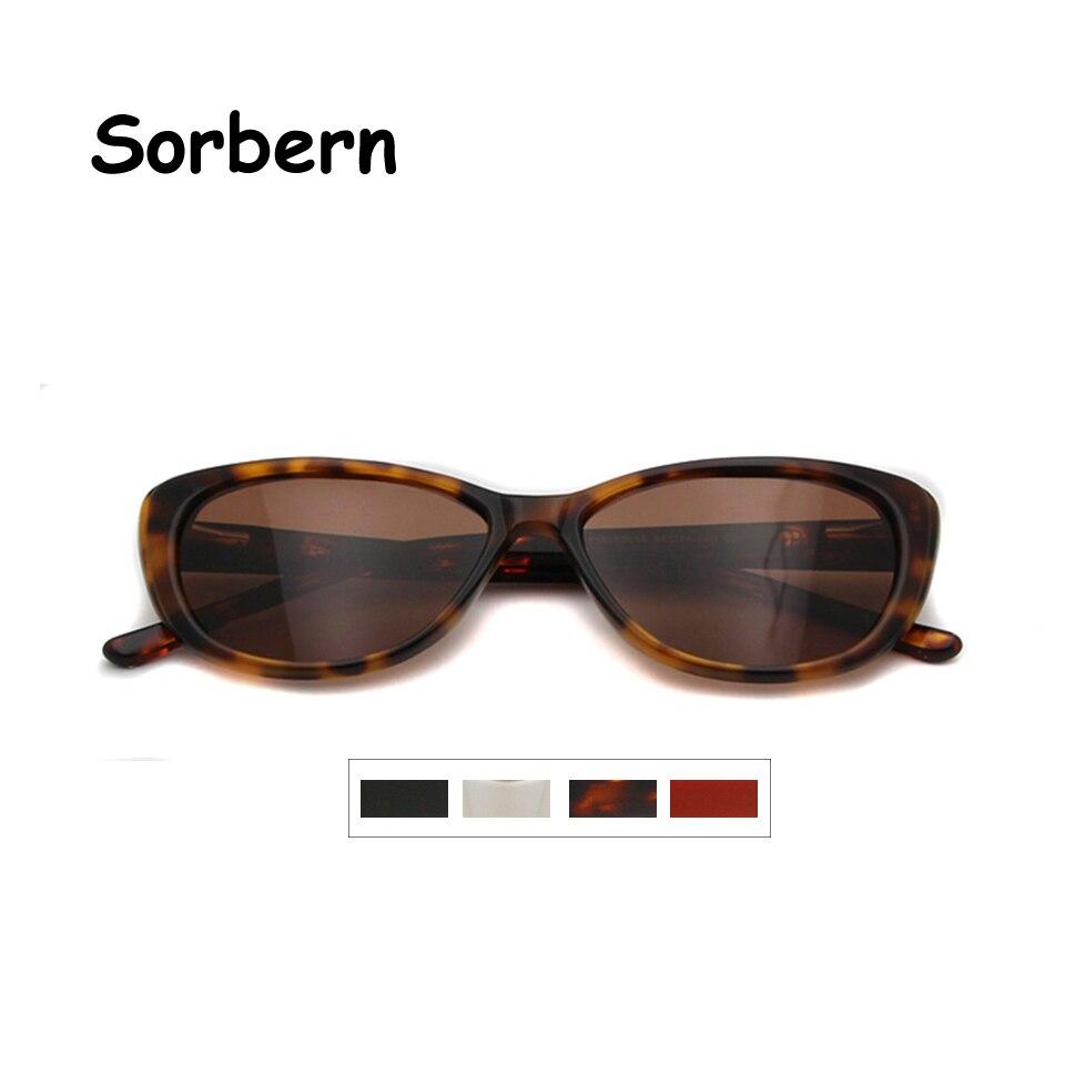 Ladies Polarized Sunglasses Women Cat Eye Eyewear Vintage Designers Sun Shades Glasses Uv400 Polaris
