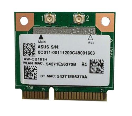 Azurewave Realtek RTL8821AE 802.11AC 433Mbps WiFi Bluetooth 4,0 Combo adaptador Wlan media Mini PCI-E bluetooth inalámbrico wifi tarjeta