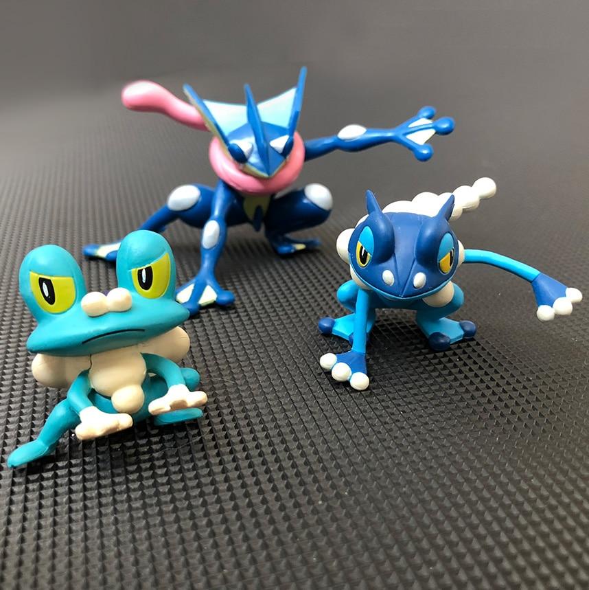 Original Greninja Frogadier Froakie anime cartoon action & toy figures Collection model toy KEN HU STORE pks