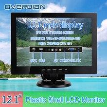 """12 """"/VGA/HDMI/BNC/AV/USB złącze monitora 1280*800 pieśń maszyna kasa kwadratowy ekran monitora/wyświetlacz nie-ekran dotykowy IPS"""