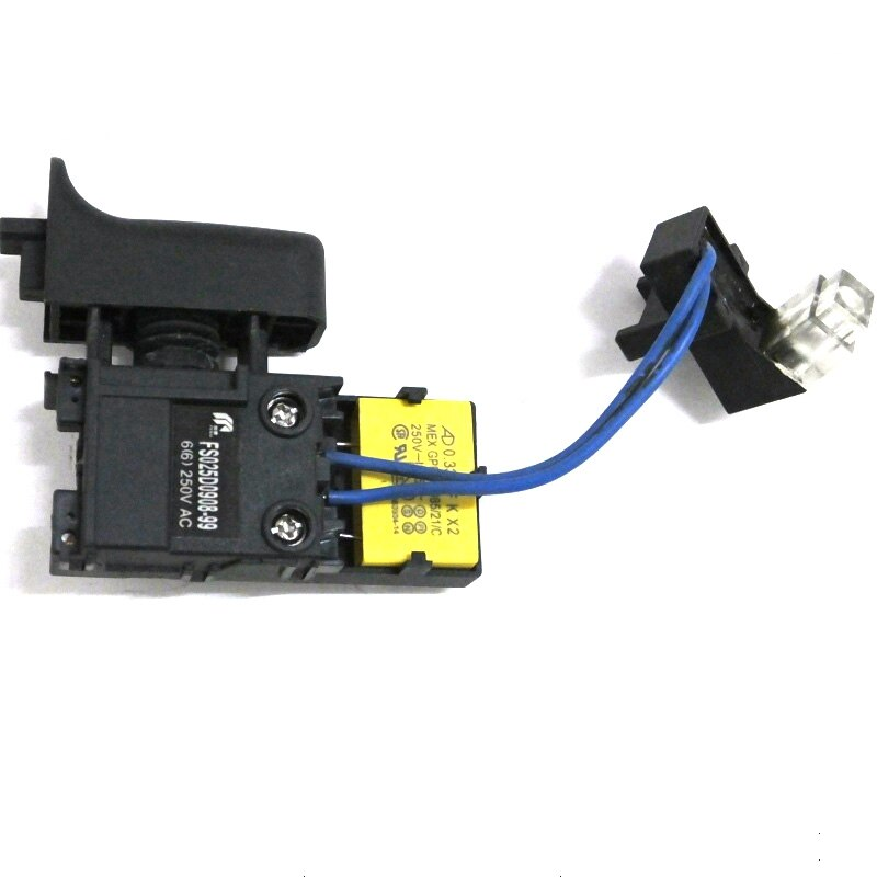 Reemplazo del interruptor de martillo AC220V para Makita HR2470 MAKITA HR2460 interruptor de martillo eléctrico con luz LED de buena calidad