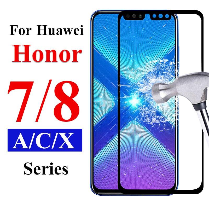 Защитная пленка для Honor 7c Glass 8s 8x 8c 7x 7a Pro, закаленное стекло для Huawei Honer Armor 7 A C X 8 A7 C7 X7 C8 X8