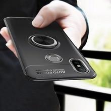 For Xiaomi mi 8 Case Luxury Silicone Soft Cover For xiaomi 8 Mi8 mi 8 Back Cover Phone Cases Finger