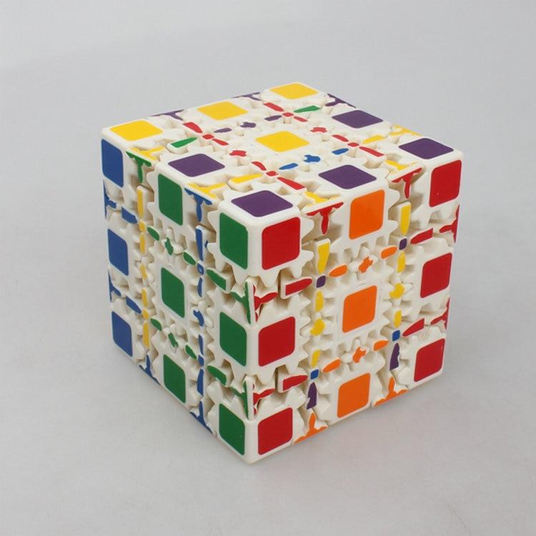 Quebra-cabeça educacional ct & oskar 5*5, cubo de engrenagem, brinquedos educativos-80mm