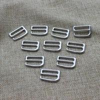 sliver 9 car mats buckle shoes button bra underwear buckle brassiere clasp belt buck 19 mm metal zinc alloy 100 pcslot