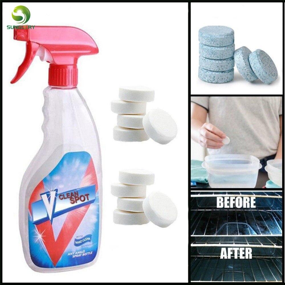 Sunglory producto de limpieza efervescente y multifuncional para aerosol con botella de todo propósito limpieza accesorios de cocina