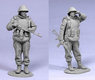 Figura de resina sin pintar a escala 1/35, Fuerza Especial rusa