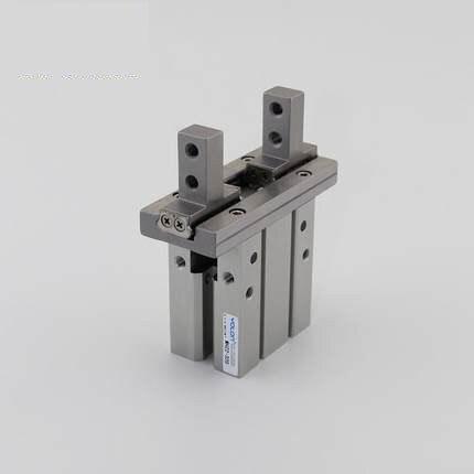 1x pinza neumática paralela tipo SMC doble acción MHZ2-16D