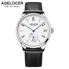 2019 AGELOCER hommes montres suisse hommes rôle montre automatique de luxe célèbre marque affaires cadeau analogique chiffres arabes montre mâle