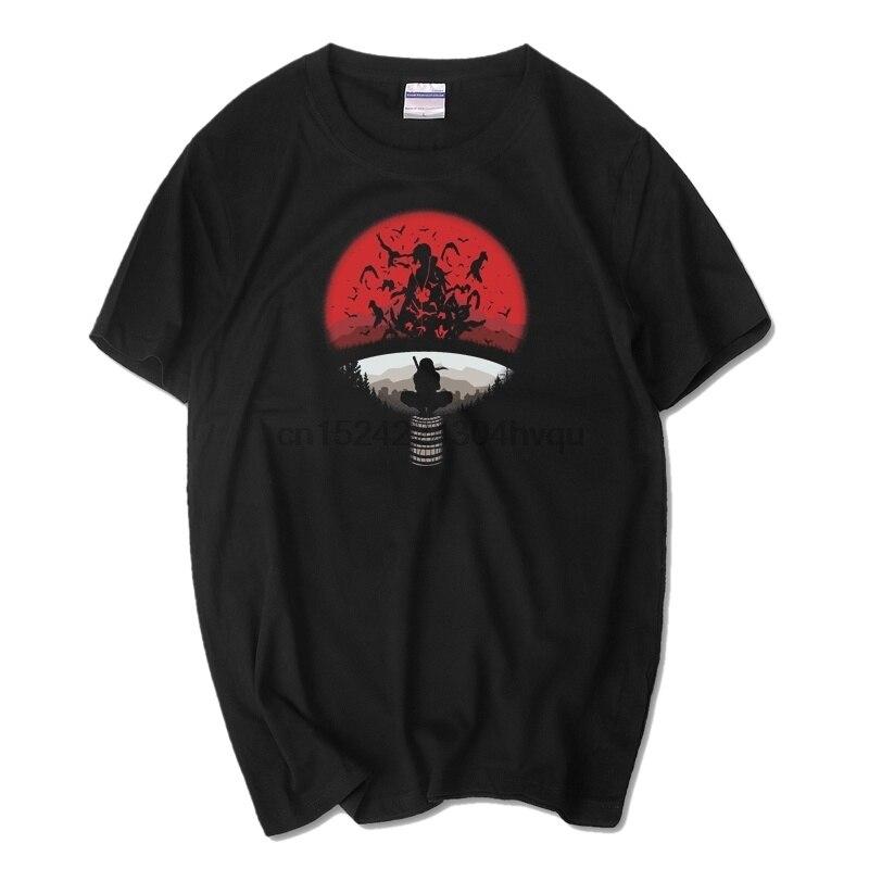 Comic Naruto Konoha Naruto logo Camiseta Hombre Sa Suke fan Kaka oeste de mujeres camiseta