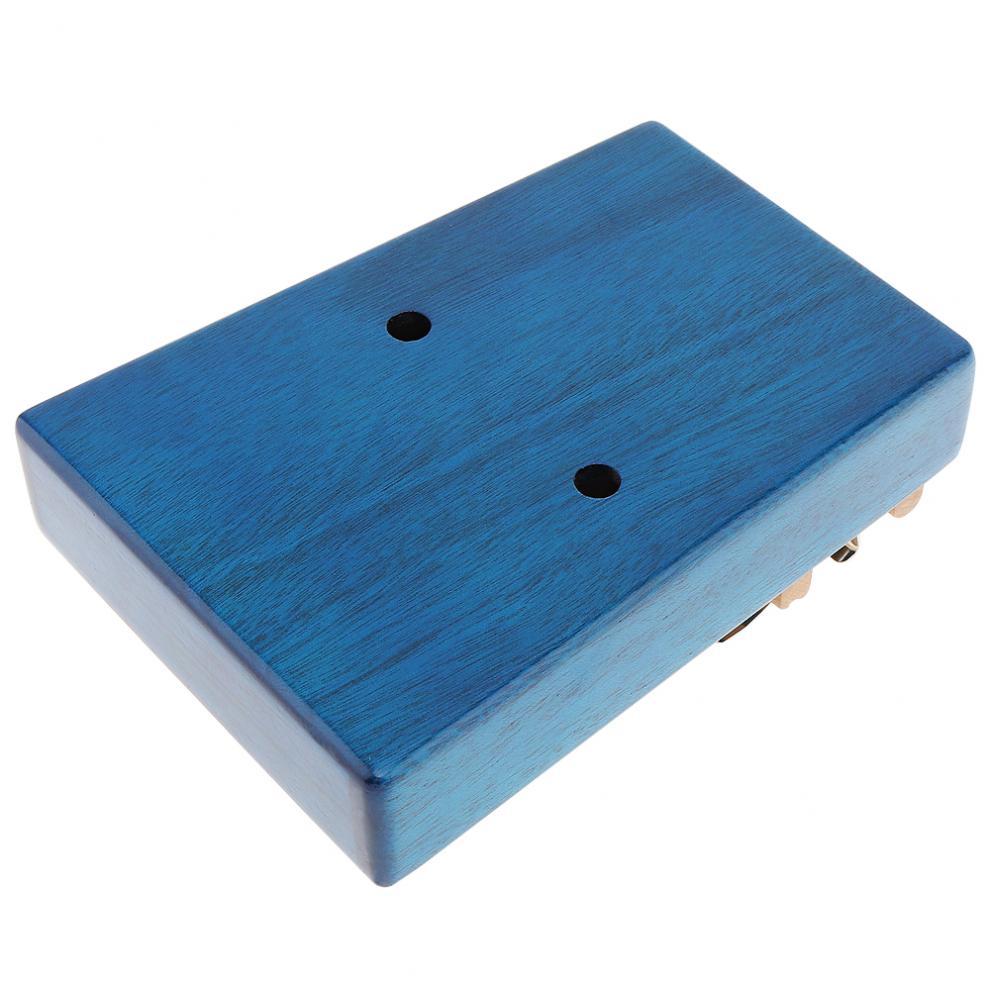 17 Key High Quality Portable Kalimba Single Board Mahogany Thumb Piano Mbira Natural Mini Keyboard Instrument Accessories enlarge