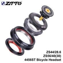 """ZTTO 4456ST MTB الدراجة الطريق Fiets سماعة 44 ملليمتر 56 ملليمتر CNC 1 1/8 """"-1 1/2"""" 1.5 مستدق 28.6 Rechte بوي vork Interne 44 56 سماعة"""